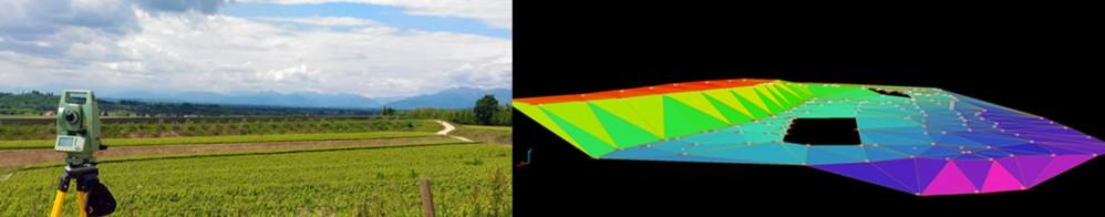 Rilievi plani-altimetrici e modellazione 3D